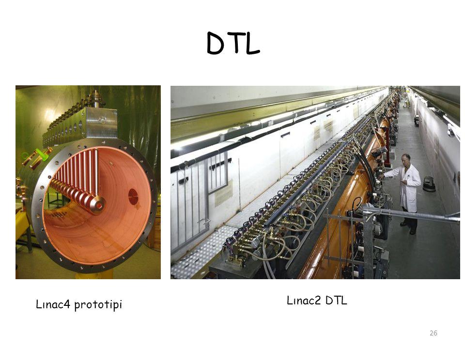 DTL Lınac2 DTL Lınac4 prototipi