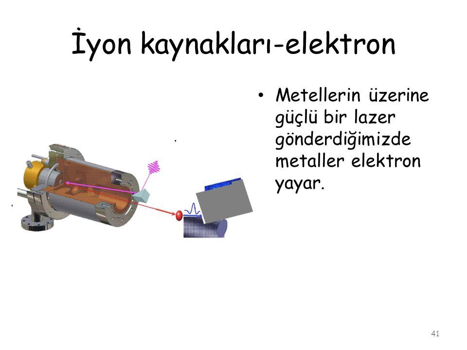 İyon kaynakları-elektron
