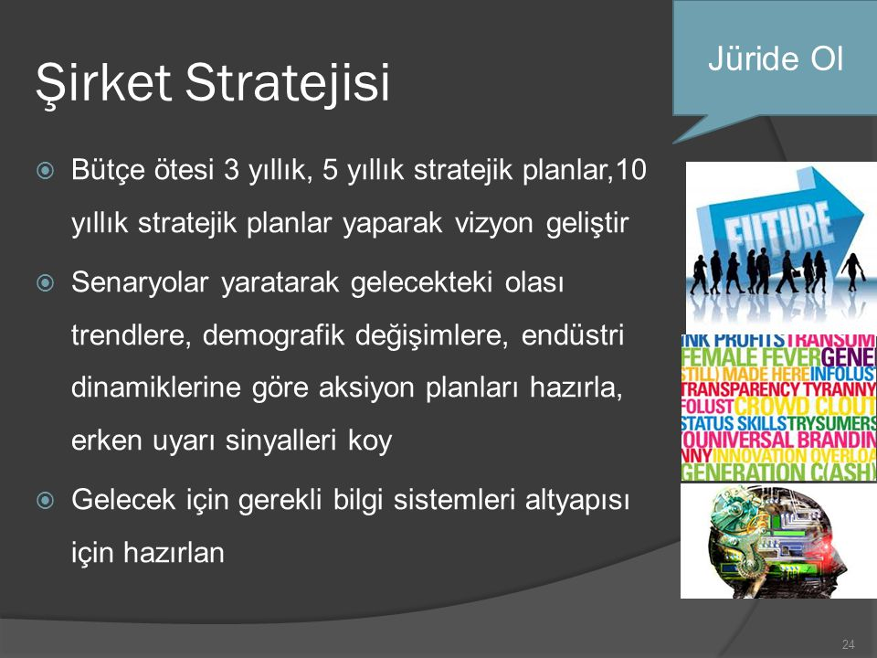 Şirket Stratejisi Jüride Ol