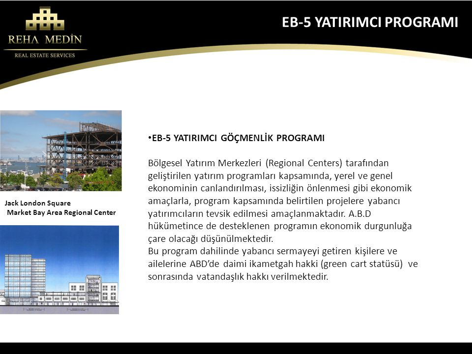 EB-5 YATIRIMCI PROGRAMI