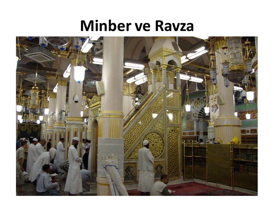 Minber ve Ravza