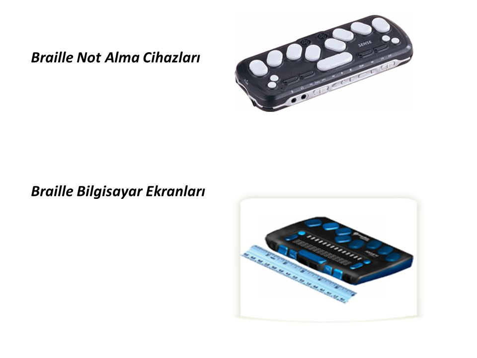 Braille Not Alma Cihazları