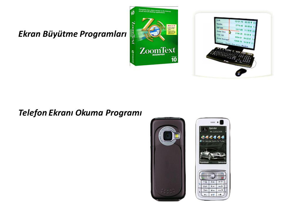 Ekran Büyütme Programları