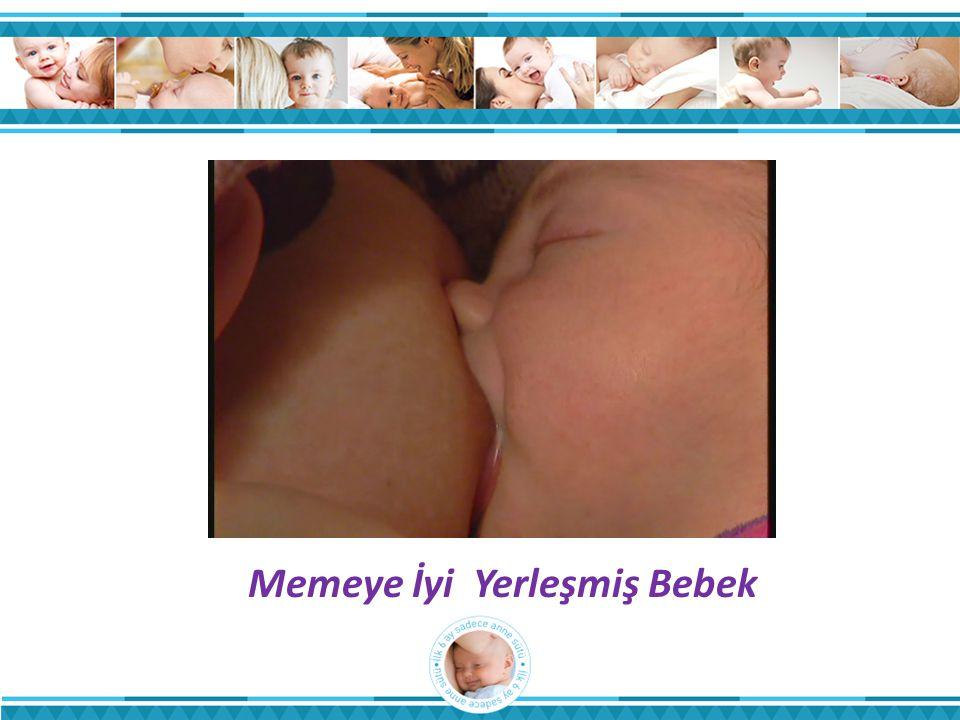 Memeye İyi Yerleşmiş Bebek