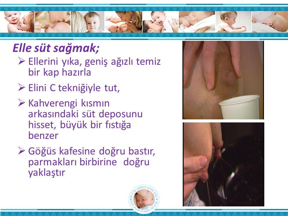 Elle süt sağmak; Ellerini yıka, geniş ağızlı temiz bir kap hazırla