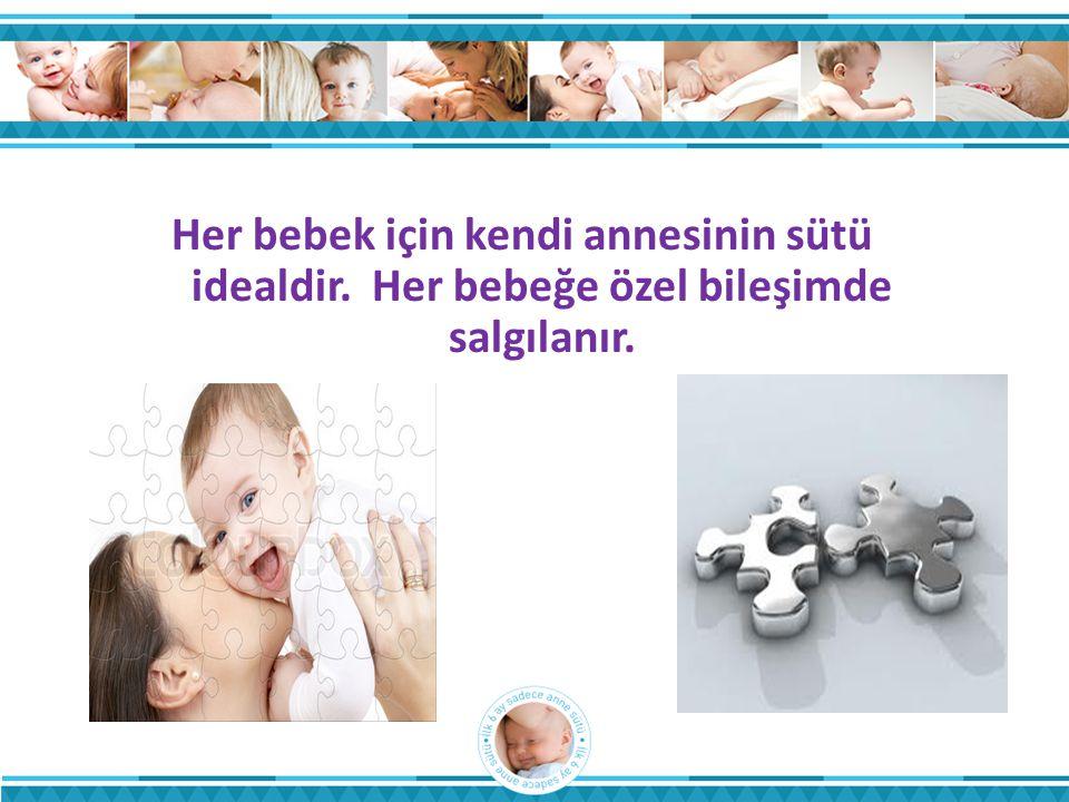 Her bebek için kendi annesinin sütü idealdir