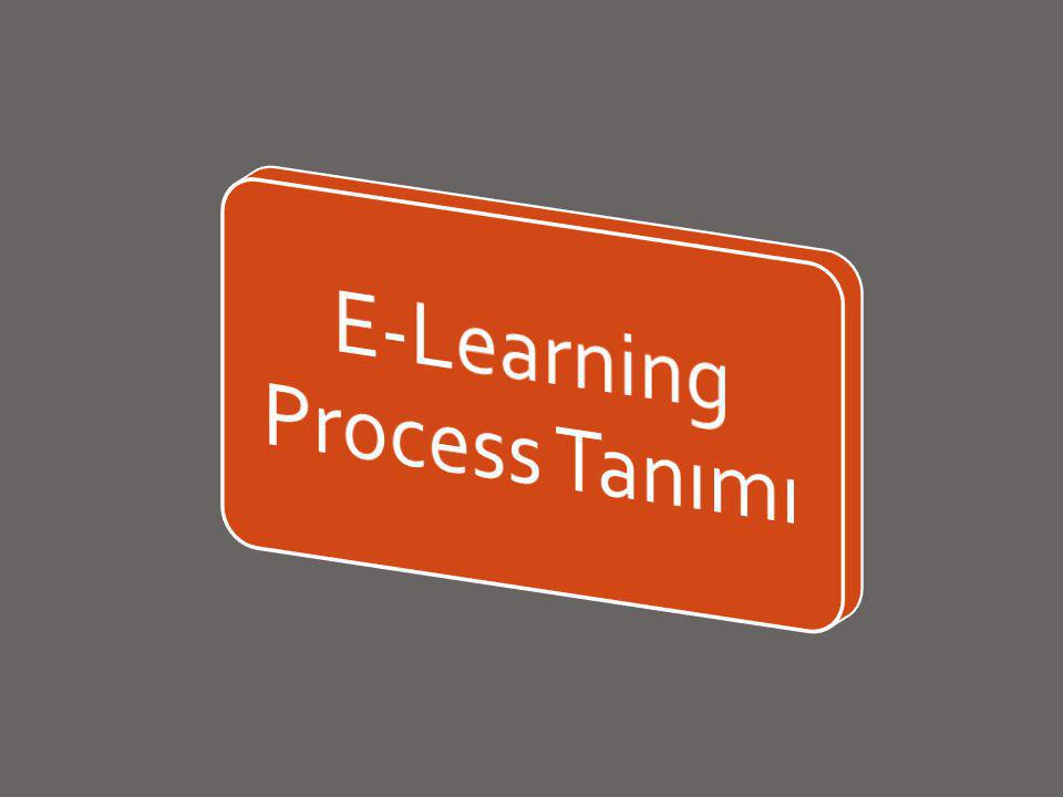 E-Learning Process Tanımı