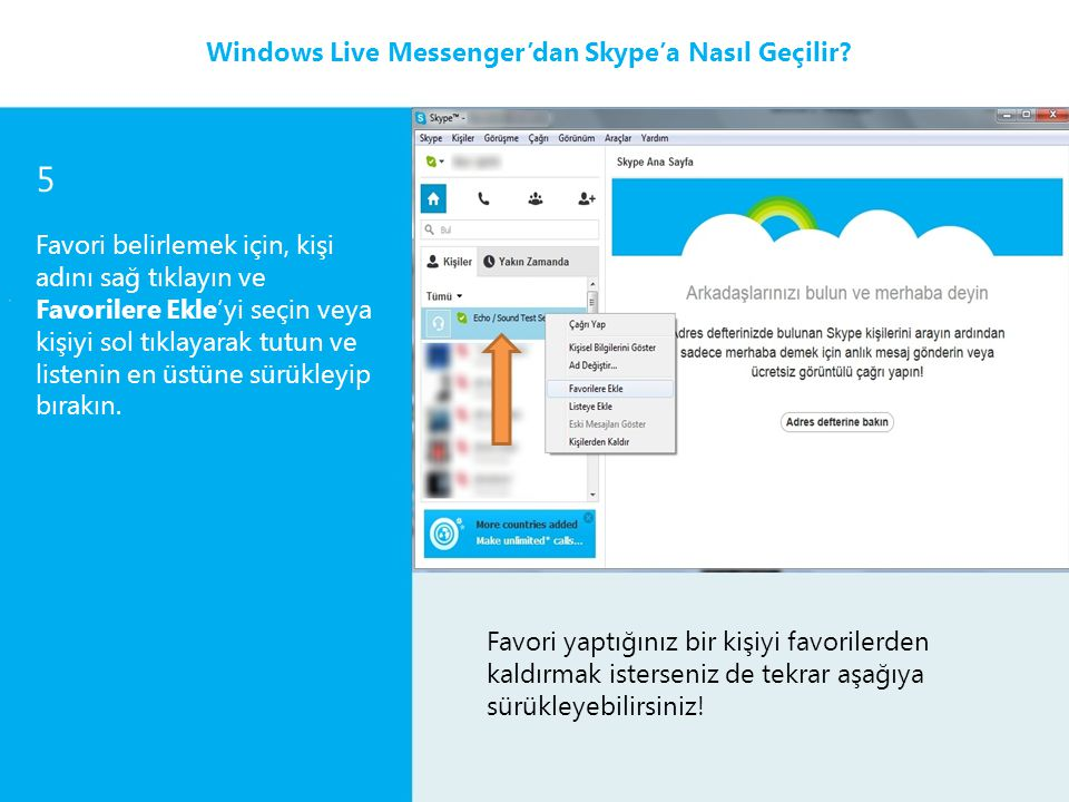 5 Windows Live Messenger'dan Skype'a Nasıl Geçilir