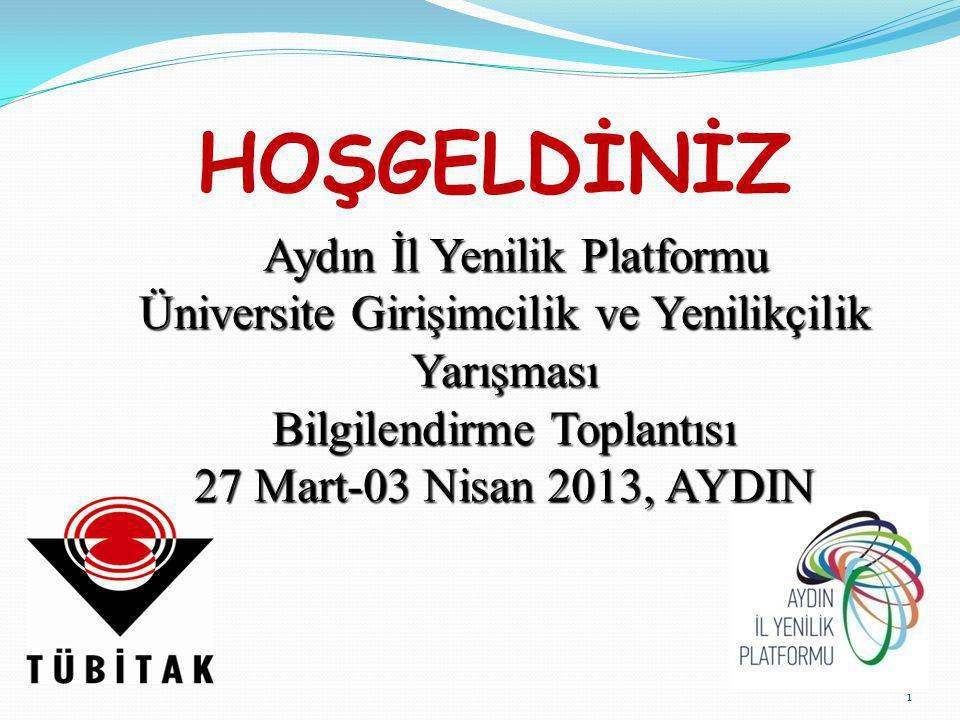 HOŞGELDİNİZ Aydın İl Yenilik Platformu