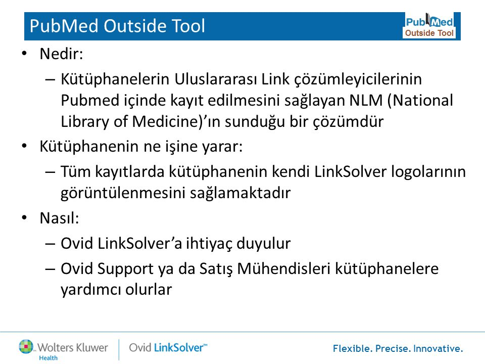 PubMed Outside Tool Nedir: