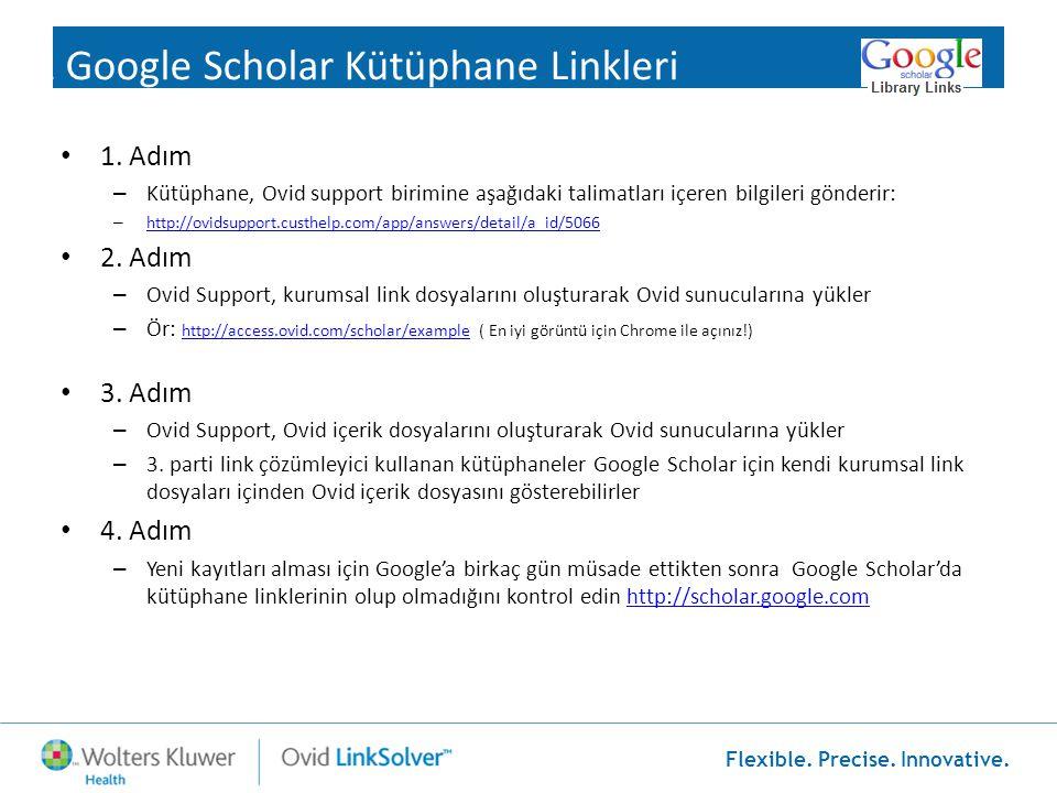 1 Google Scholar Kütüphane Linkleri