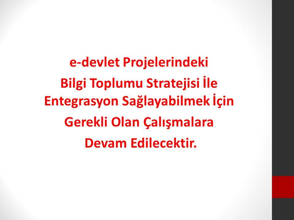 e-devlet Projelerindeki