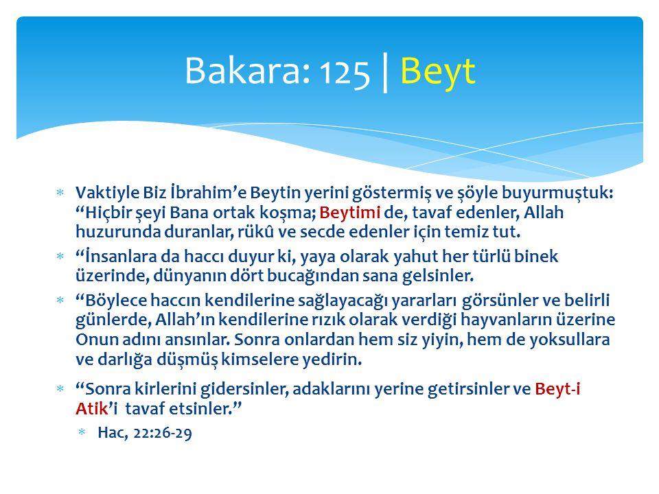 Bakara: 125 | Beyt