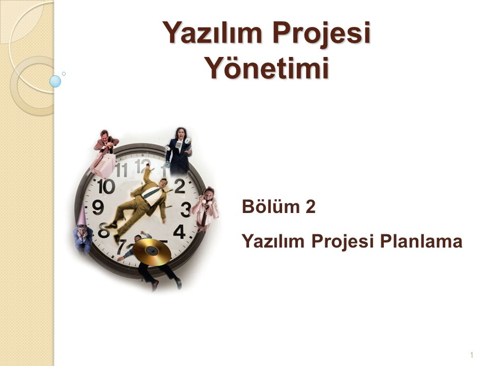 Yazılım Projesi Yönetimi