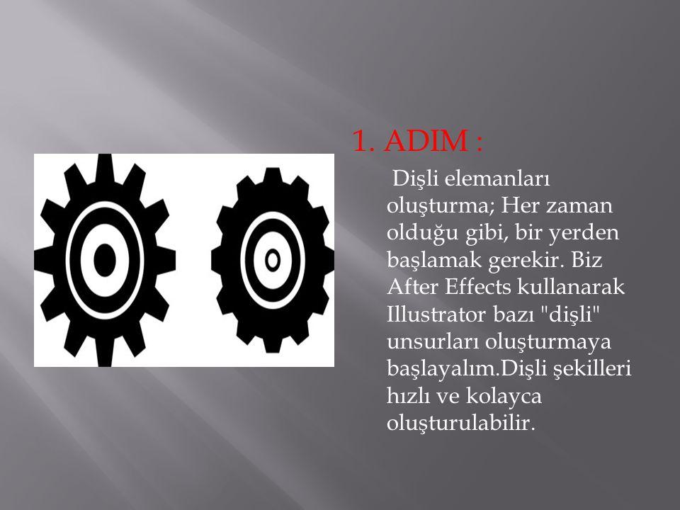 1. ADIM :