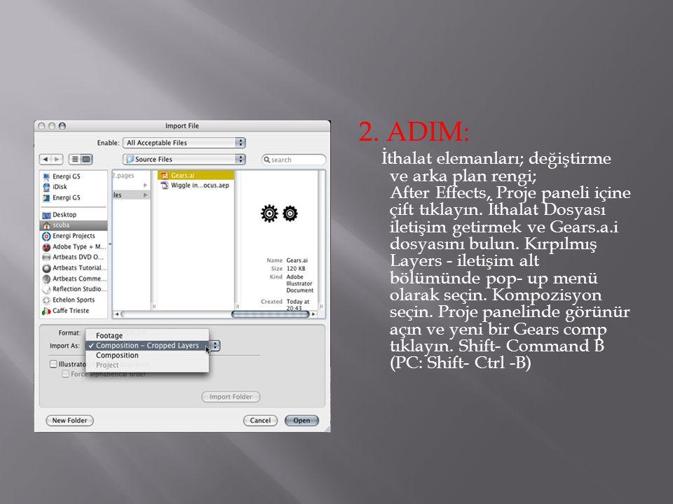2. ADIM: