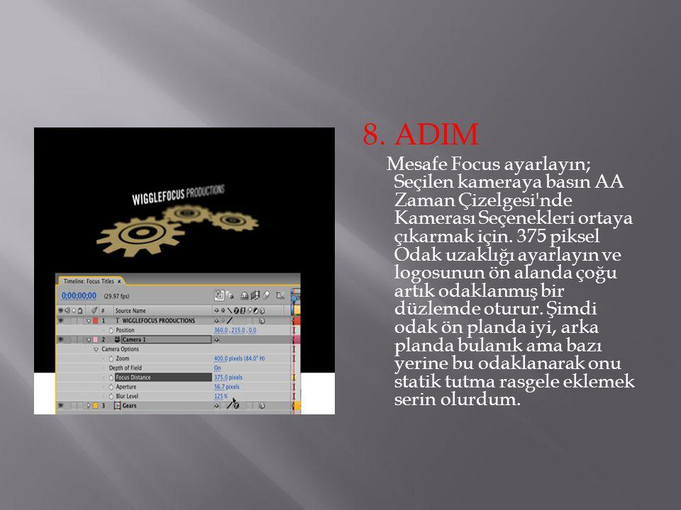 8. ADIM