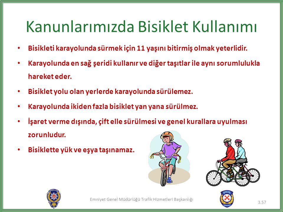 Kanunlarımızda Bisiklet Kullanımı