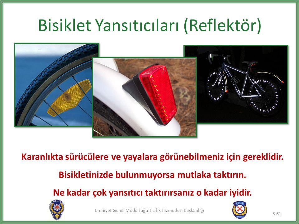 Bisiklet Yansıtıcıları (Reflektör)