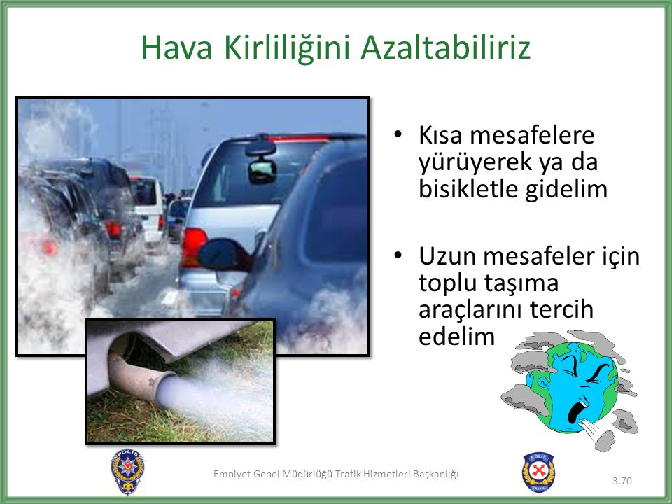 Hava Kirliliğini Azaltabiliriz