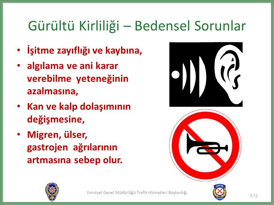 Gürültü Kirliliği – Bedensel Sorunlar