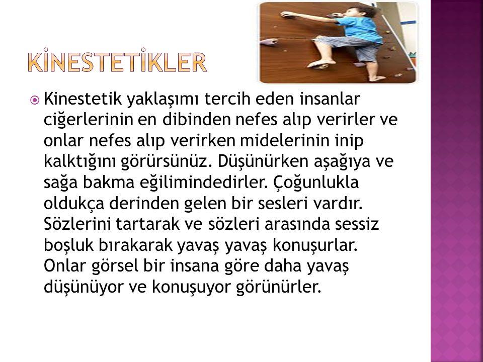 KİNESTETİKLER