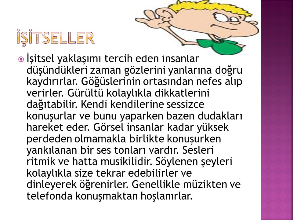 İŞİTSELLER