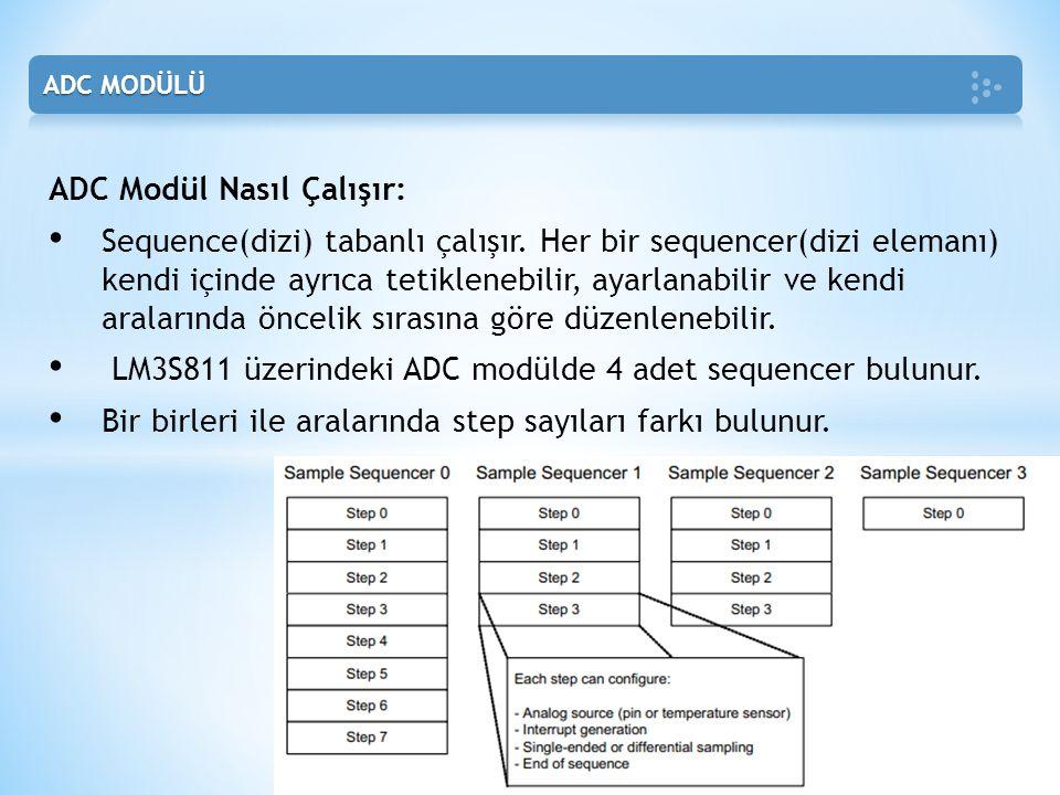 ADC Modül Nasıl Çalışır: