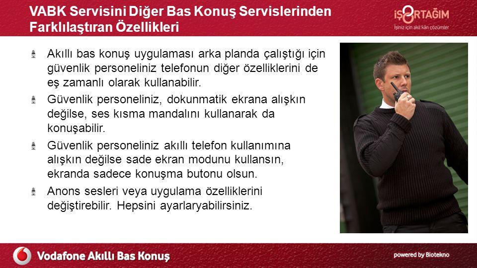 VABK Servisini Diğer Bas Konuş Servislerinden Farklılaştıran Özellikleri