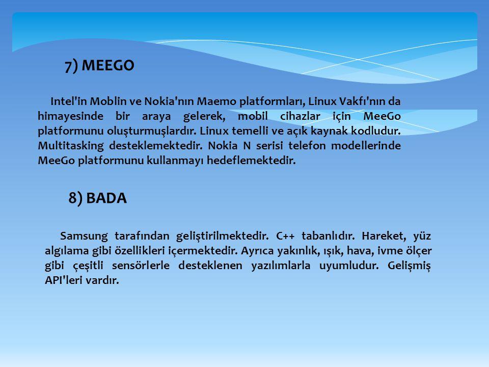 7) MEEGO