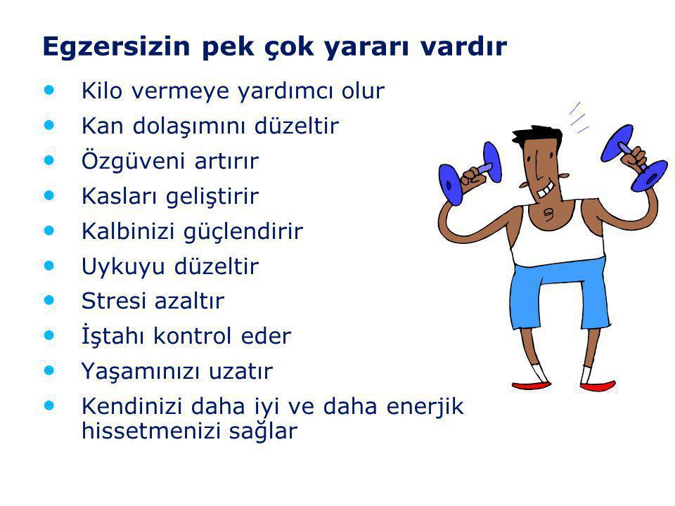 Egzersizin pek çok yararı vardır
