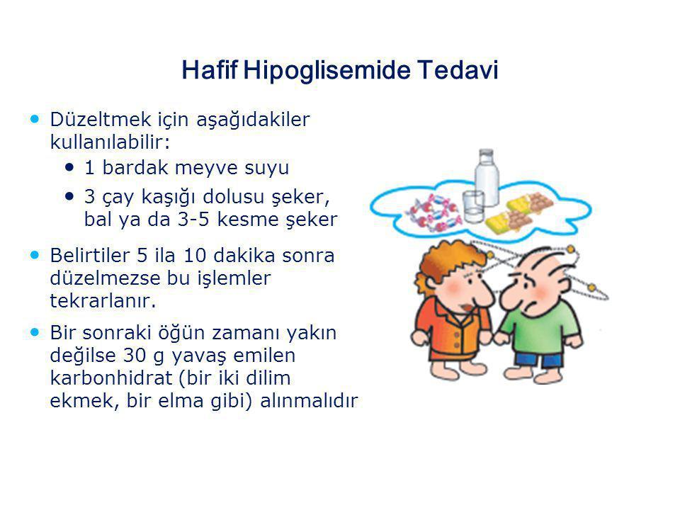 Hafif Hipoglisemide Tedavi