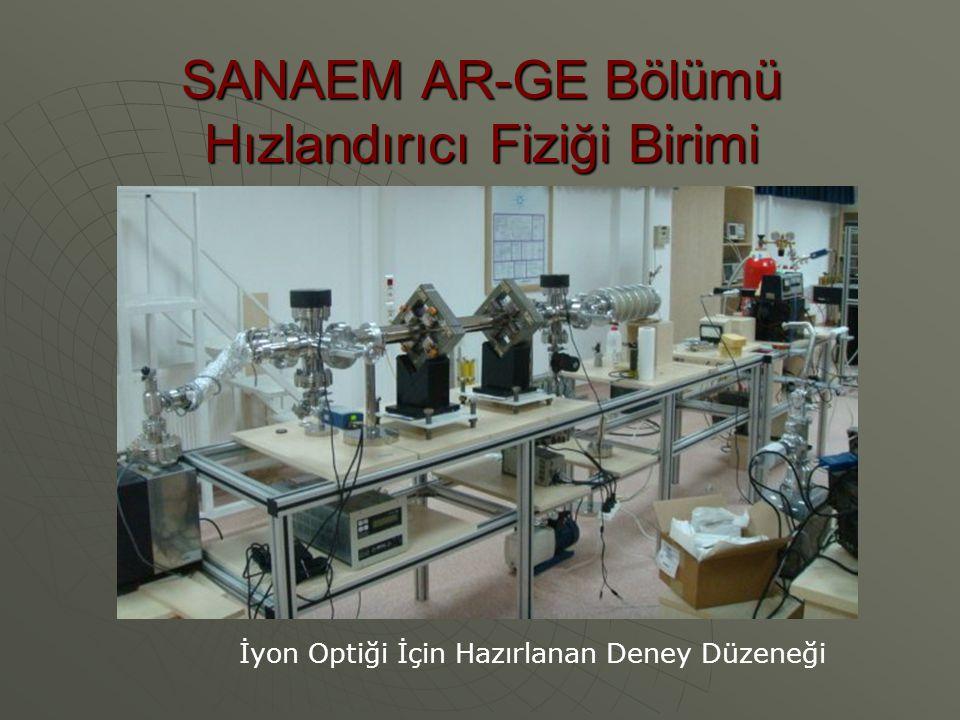 SANAEM AR-GE Bölümü Hızlandırıcı Fiziği Birimi
