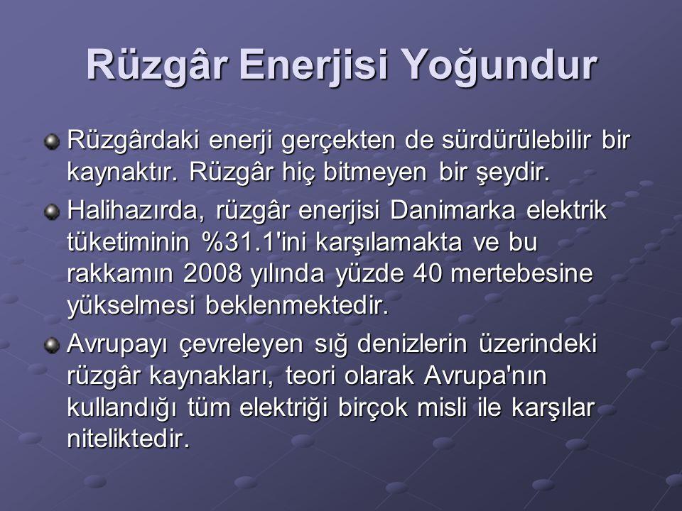 Rüzgâr Enerjisi Yoğundur