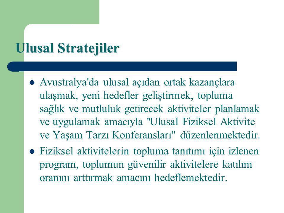 Ulusal Stratejiler