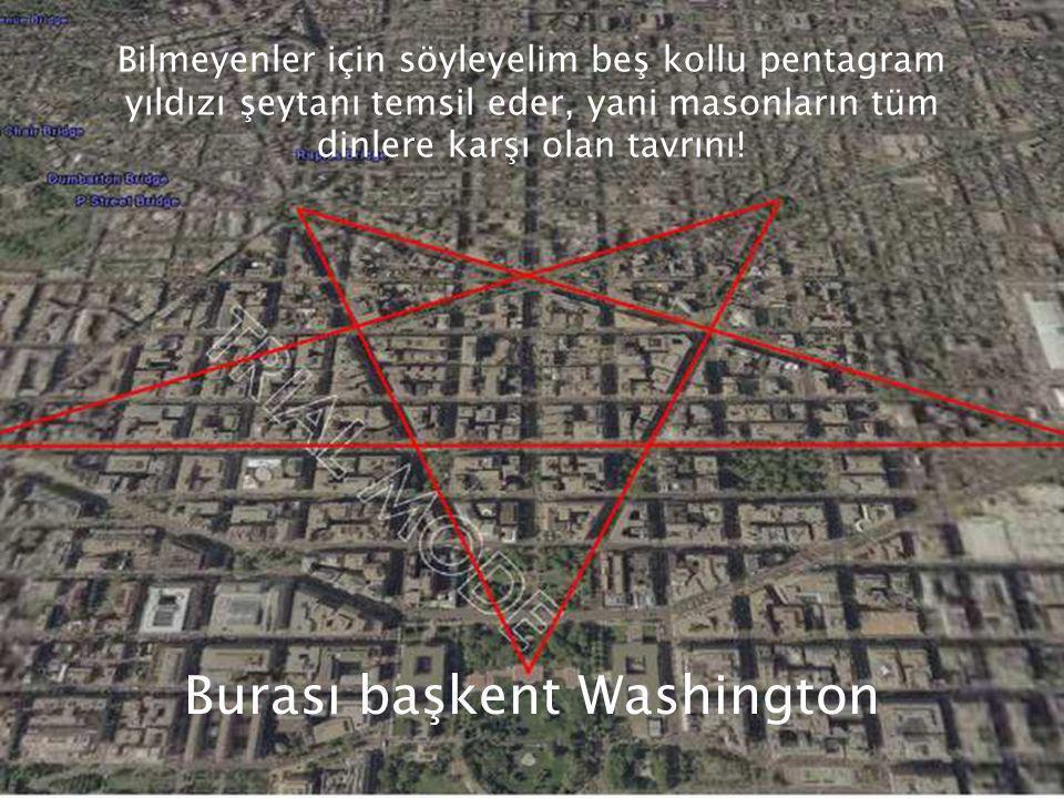 Burası başkent Washington