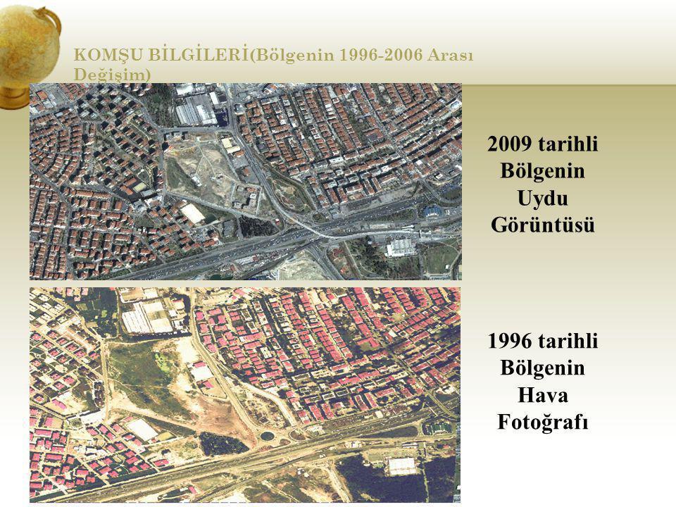 2009 tarihli Bölgenin Uydu Görüntüsü