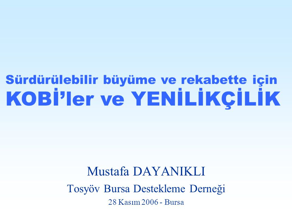 Tosyöv Bursa Destekleme Derneği