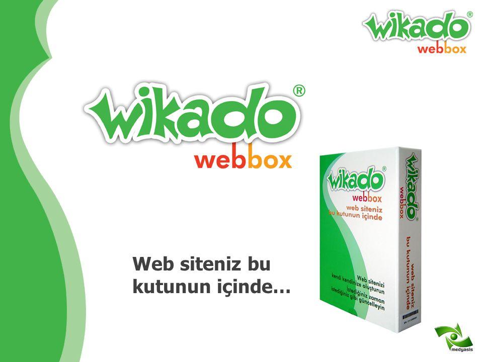 Web siteniz bu kutunun içinde…