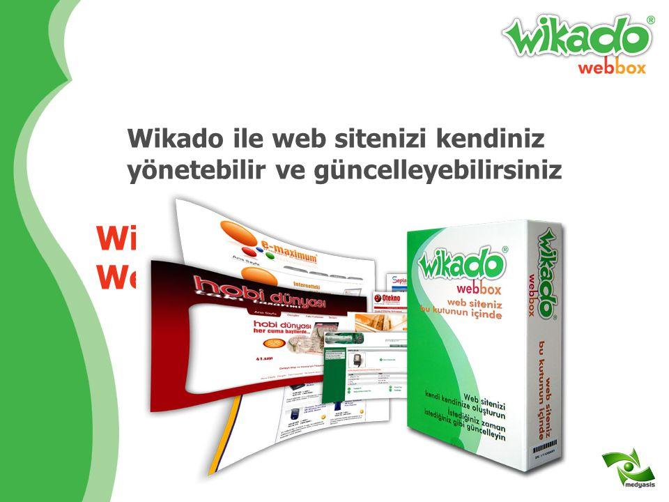 Wikado Yeni Nesil Web Sitesidir