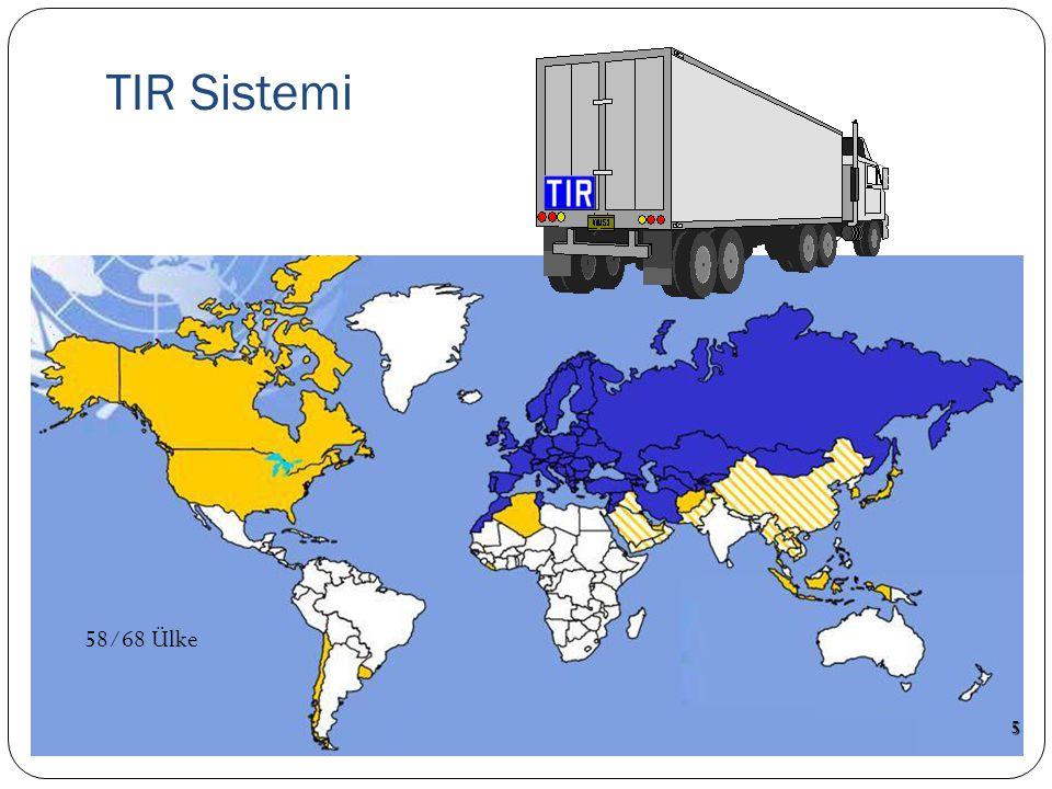 TIR Sistemi 58/68 Ülke 5