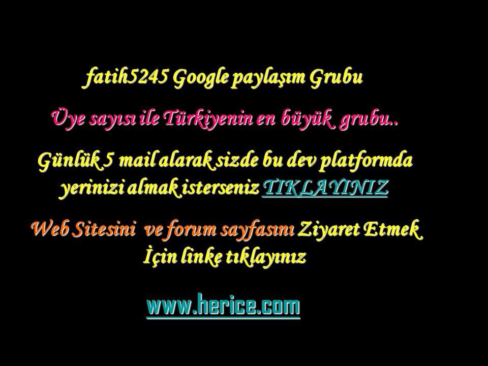 www.herice.com fatih5245 Google paylaşım Grubu
