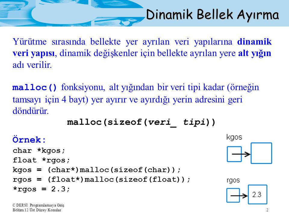 malloc(sizeof(veri_ tipi))
