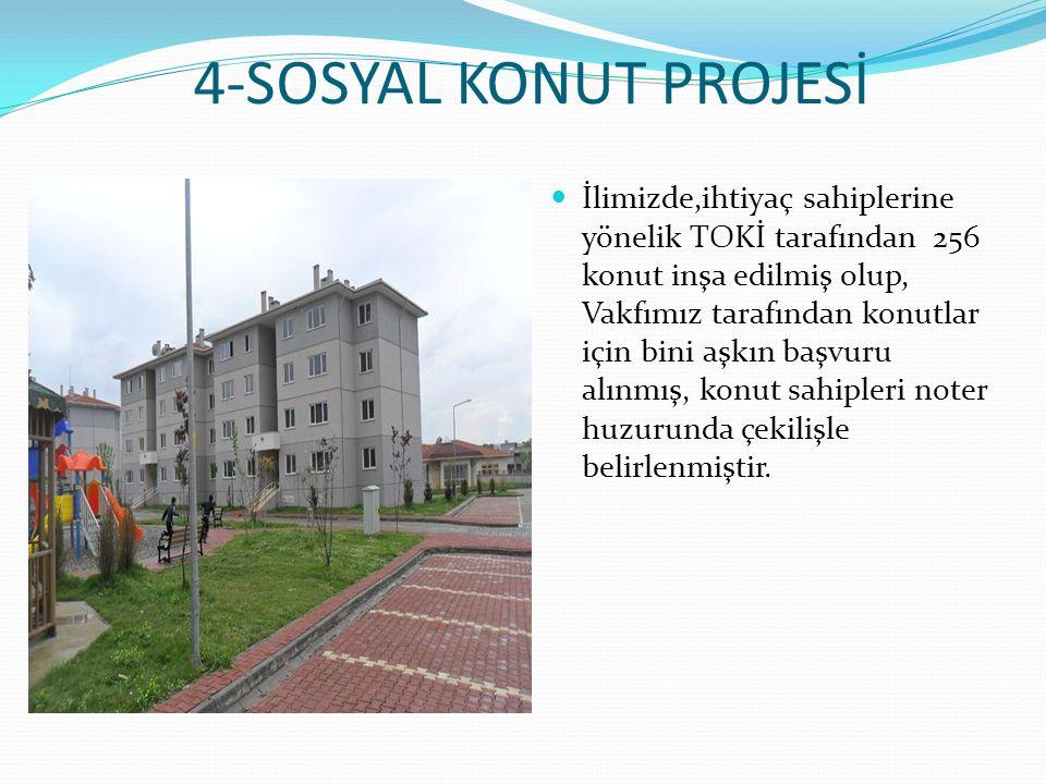 4-SOSYAL KONUT PROJESİ