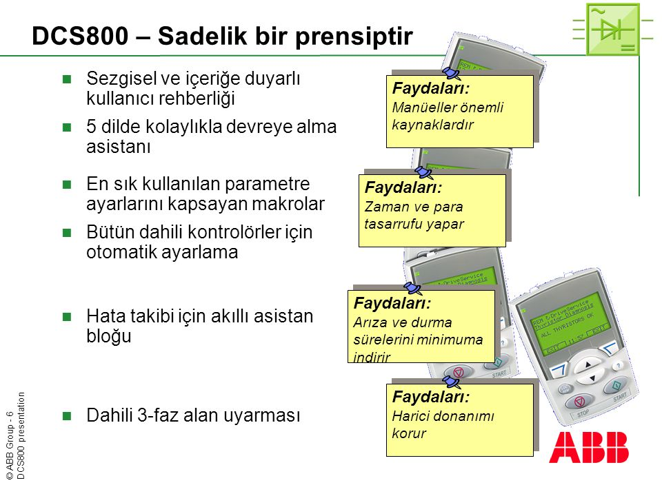 DCS800 – Sadelik bir prensiptir