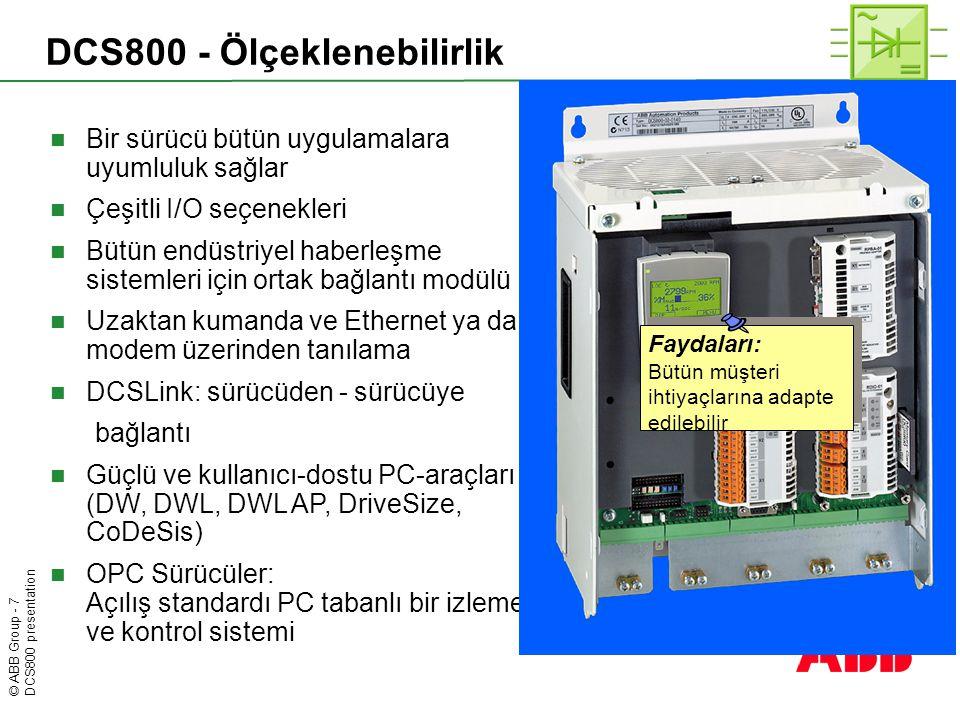DCS800 - Ölçeklenebilirlik