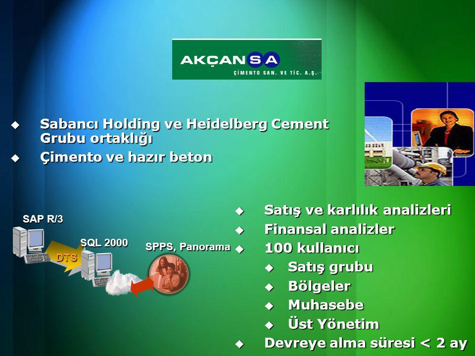 Sabancı Holding ve Heidelberg Cement Grubu ortaklığı