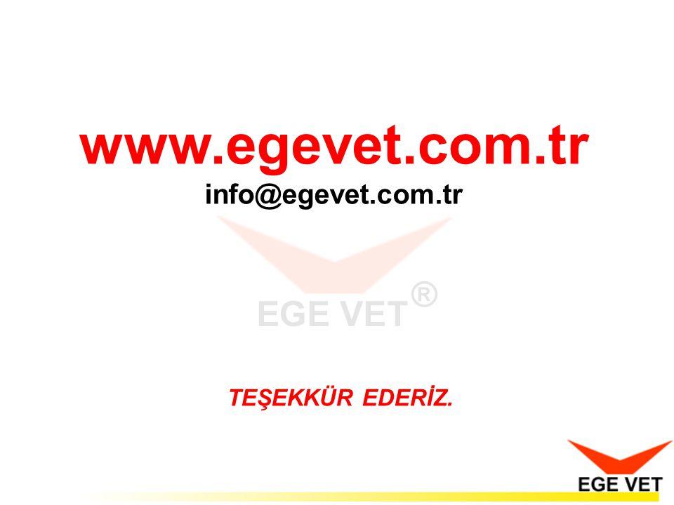 www.egevet.com.tr info@egevet.com.tr