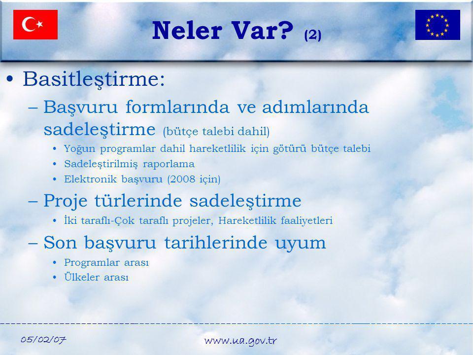 Neler Var (2) Basitleştirme: