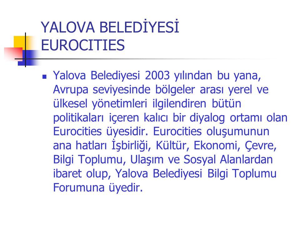 YALOVA BELEDİYESİ EUROCITIES